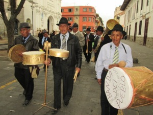 senior band from a pueblo outside the city
