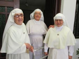 Precious Servants of Mary - Sister Marina, Sister Magdalena, Madre Teresa