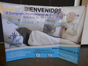 Juntos Contra el Dolor Palliative Care Congress, Oct 2015, Mexico