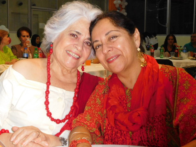 beautiful Mexican ladies of the San Bernardo parish