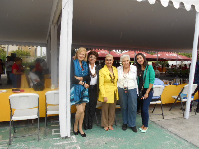 International Day of Older Adults with DIF and INAPAM Directors & amigita Leila