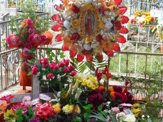 Chapala Municipal Cemetery, Lake Chapala, Mexico