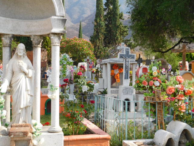 Ajijic Cemetery, Lake Chapala, Mexico